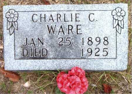WARE, CHARLIE C. - Boone County, Arkansas | CHARLIE C. WARE - Arkansas Gravestone Photos