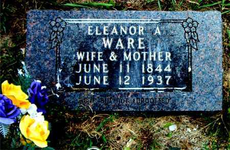 WARE, ELEANOR ALICE - Boone County, Arkansas | ELEANOR ALICE WARE - Arkansas Gravestone Photos