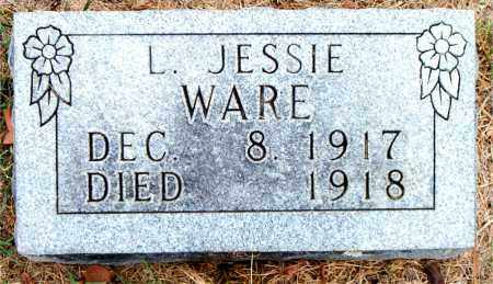 WARE, L. JESSIE - Boone County, Arkansas | L. JESSIE WARE - Arkansas Gravestone Photos