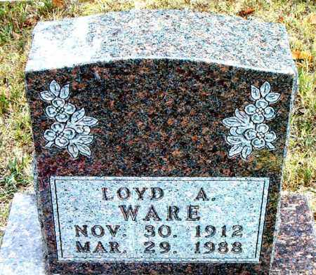 WARE, LOYD - Boone County, Arkansas | LOYD WARE - Arkansas Gravestone Photos