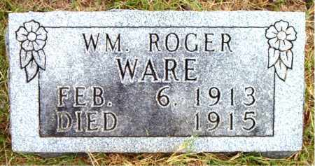 WARE, WM ROGER - Boone County, Arkansas | WM ROGER WARE - Arkansas Gravestone Photos