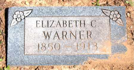 WARNER, ELIZABETH  C. - Boone County, Arkansas | ELIZABETH  C. WARNER - Arkansas Gravestone Photos