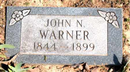 WARNER, JOHN  N. - Boone County, Arkansas | JOHN  N. WARNER - Arkansas Gravestone Photos