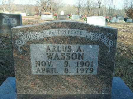 WASSON, ARLUS A. - Boone County, Arkansas | ARLUS A. WASSON - Arkansas Gravestone Photos