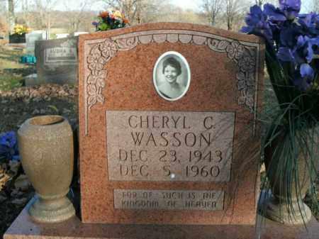WASSON, CHERYL C. - Boone County, Arkansas | CHERYL C. WASSON - Arkansas Gravestone Photos
