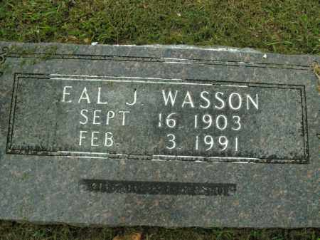 WASSON, EAL JACK - Boone County, Arkansas | EAL JACK WASSON - Arkansas Gravestone Photos