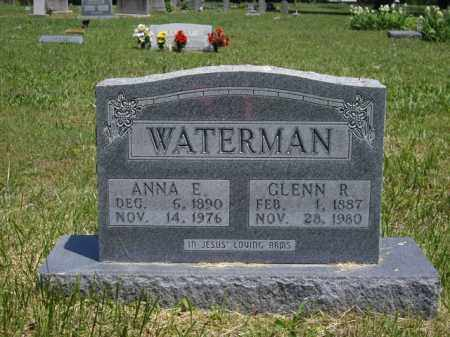 WATERMAN, GLENN R. - Boone County, Arkansas | GLENN R. WATERMAN - Arkansas Gravestone Photos