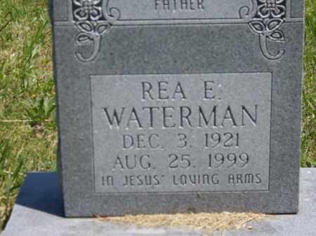 WATERMAN, REA E. - Boone County, Arkansas | REA E. WATERMAN - Arkansas Gravestone Photos