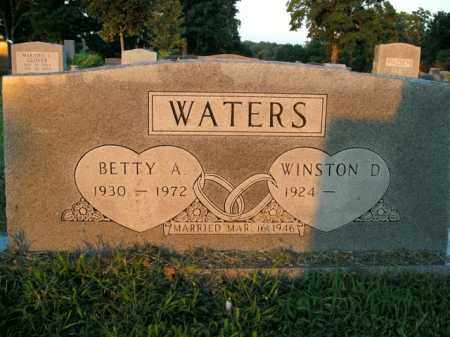 WATERS, BETTY A. - Boone County, Arkansas | BETTY A. WATERS - Arkansas Gravestone Photos