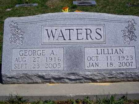 WATERS, GEORGE A. - Boone County, Arkansas | GEORGE A. WATERS - Arkansas Gravestone Photos