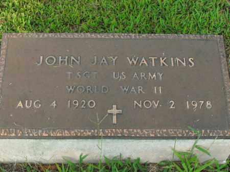 WATKINS  (VETERAN WWII), JOHN JAY - Boone County, Arkansas | JOHN JAY WATKINS  (VETERAN WWII) - Arkansas Gravestone Photos