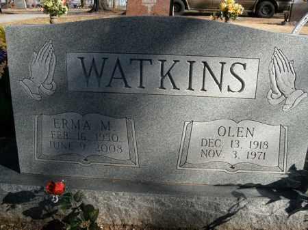 WATKINS, OLEN - Boone County, Arkansas | OLEN WATKINS - Arkansas Gravestone Photos