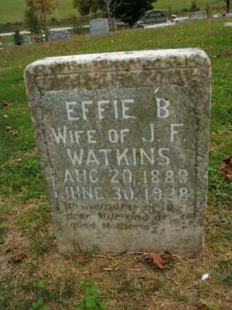 WATKINS, EFFIE B. - Boone County, Arkansas | EFFIE B. WATKINS - Arkansas Gravestone Photos