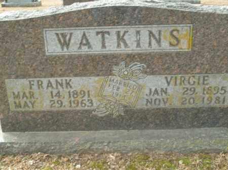 WATKINS, VIRGIE - Boone County, Arkansas | VIRGIE WATKINS - Arkansas Gravestone Photos
