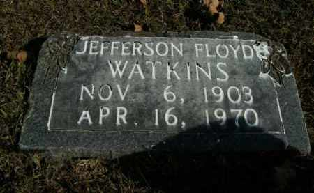 WATKINS, JEFFERSON FLOYD - Boone County, Arkansas | JEFFERSON FLOYD WATKINS - Arkansas Gravestone Photos