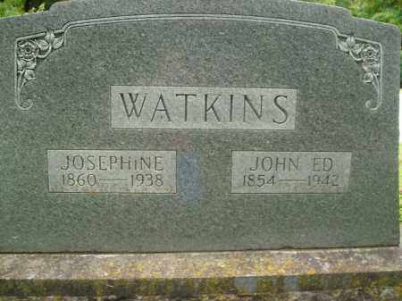 WATKINS, JOSEPHINE - Boone County, Arkansas | JOSEPHINE WATKINS - Arkansas Gravestone Photos