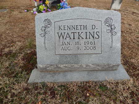 WATKINS, KENNETH D - Boone County, Arkansas | KENNETH D WATKINS - Arkansas Gravestone Photos