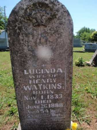 WATKINS, LUCINDA - Boone County, Arkansas | LUCINDA WATKINS - Arkansas Gravestone Photos