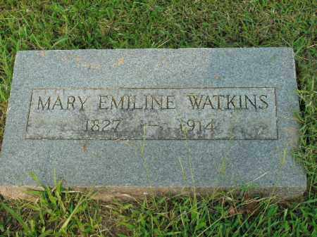 WATKINS, MARY EMILINE - Boone County, Arkansas | MARY EMILINE WATKINS - Arkansas Gravestone Photos