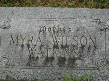 WATKINS, MYRA - Boone County, Arkansas | MYRA WATKINS - Arkansas Gravestone Photos