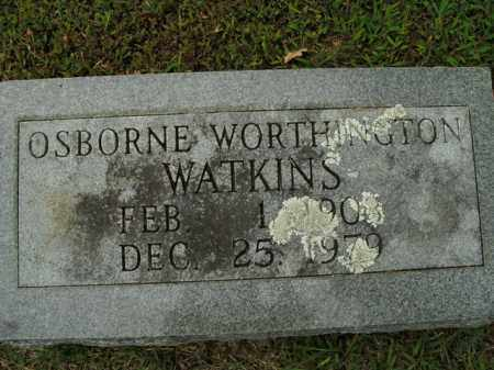 WATKINS, OSBORNE WORTHINGTON - Boone County, Arkansas | OSBORNE WORTHINGTON WATKINS - Arkansas Gravestone Photos