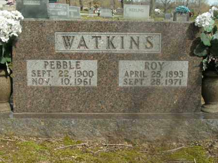 WATKINS, PEBBLE - Boone County, Arkansas | PEBBLE WATKINS - Arkansas Gravestone Photos