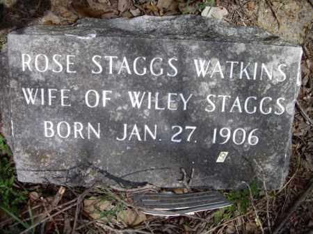 WATKINS, ROSE STAGGS - Boone County, Arkansas | ROSE STAGGS WATKINS - Arkansas Gravestone Photos