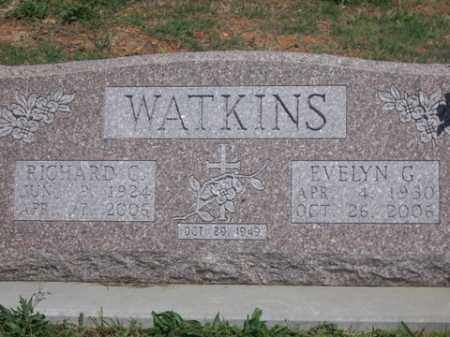 WATKINS, EVELYN G. - Boone County, Arkansas | EVELYN G. WATKINS - Arkansas Gravestone Photos
