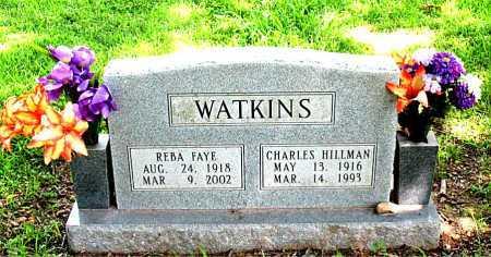 WATKINS, CHARLES HILLMAN - Boone County, Arkansas | CHARLES HILLMAN WATKINS - Arkansas Gravestone Photos