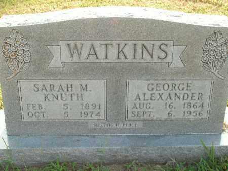 WATKINS, GEORGE ALEXANDER - Boone County, Arkansas | GEORGE ALEXANDER WATKINS - Arkansas Gravestone Photos