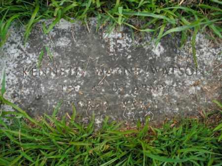 WATSON  (VETERAN WWII), KENNETH WAYNE - Boone County, Arkansas   KENNETH WAYNE WATSON  (VETERAN WWII) - Arkansas Gravestone Photos