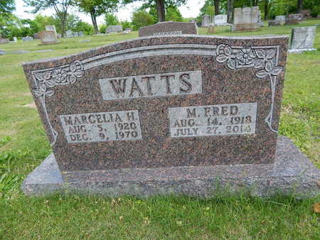 WATTS, MARCELIA H. - Boone County, Arkansas | MARCELIA H. WATTS - Arkansas Gravestone Photos