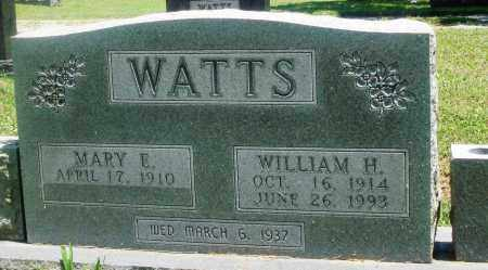 WATTS, MARY E - Boone County, Arkansas | MARY E WATTS - Arkansas Gravestone Photos
