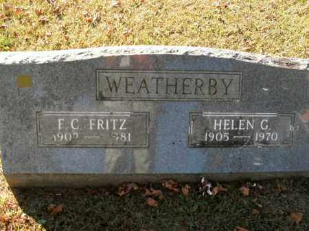WEATHERBY, HELEN G. - Boone County, Arkansas | HELEN G. WEATHERBY - Arkansas Gravestone Photos