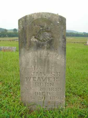 WEAVER, A.J. - Boone County, Arkansas | A.J. WEAVER - Arkansas Gravestone Photos