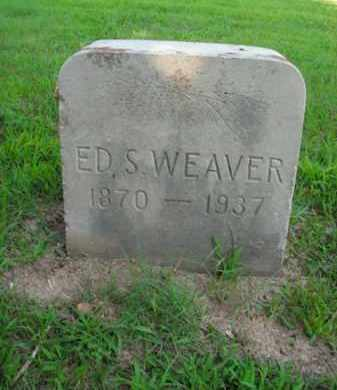 WEAVER, ED S. - Boone County, Arkansas | ED S. WEAVER - Arkansas Gravestone Photos