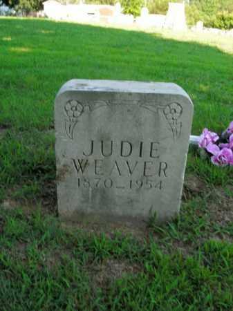 WEAVER, JUDIE - Boone County, Arkansas | JUDIE WEAVER - Arkansas Gravestone Photos