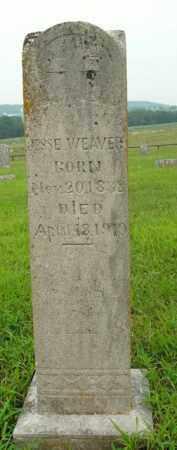 WEAVER, JESSE - Boone County, Arkansas | JESSE WEAVER - Arkansas Gravestone Photos
