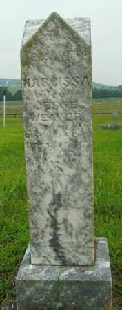 WEAVER, NARCISSA - Boone County, Arkansas | NARCISSA WEAVER - Arkansas Gravestone Photos