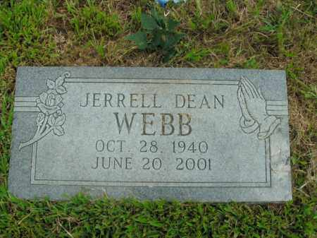 WEBB, JERRELL DEAN - Boone County, Arkansas | JERRELL DEAN WEBB - Arkansas Gravestone Photos