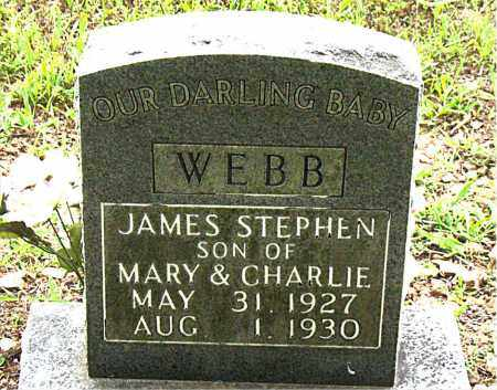 WEBB, JAMES STEPHEN - Boone County, Arkansas | JAMES STEPHEN WEBB - Arkansas Gravestone Photos
