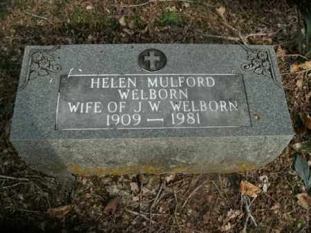 WELBORN, HELEN - Boone County, Arkansas | HELEN WELBORN - Arkansas Gravestone Photos