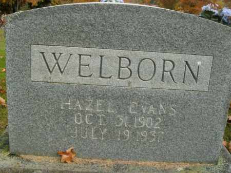 WELBORN, HAZEL - Boone County, Arkansas | HAZEL WELBORN - Arkansas Gravestone Photos