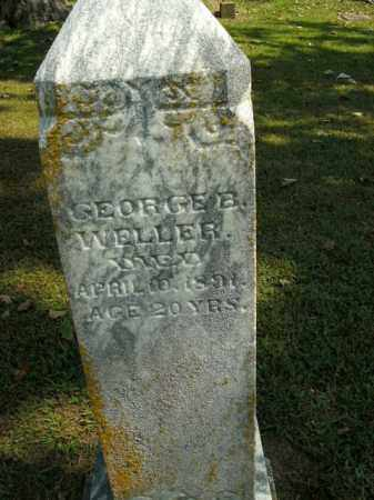 WELLER, GEORGE B. - Boone County, Arkansas | GEORGE B. WELLER - Arkansas Gravestone Photos