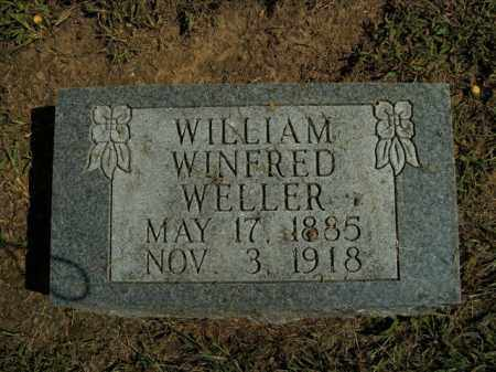 WELLER, WILLIAM WINFRED - Boone County, Arkansas | WILLIAM WINFRED WELLER - Arkansas Gravestone Photos