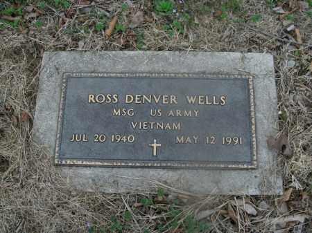 WELLS  (VETERAN VIET), ROSS DENVER - Boone County, Arkansas | ROSS DENVER WELLS  (VETERAN VIET) - Arkansas Gravestone Photos