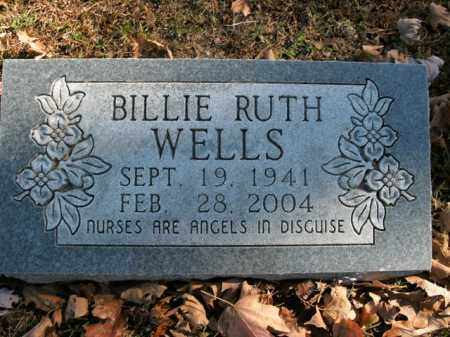 WELLS, BILLIE RUTH - Boone County, Arkansas | BILLIE RUTH WELLS - Arkansas Gravestone Photos