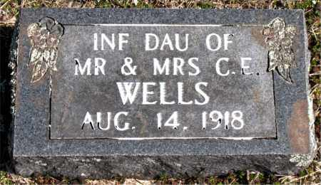 WELLS, INFANT DAUGHTER - Boone County, Arkansas | INFANT DAUGHTER WELLS - Arkansas Gravestone Photos