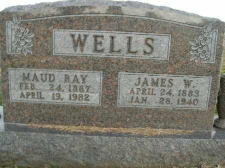 WELLS, JAMES W. - Boone County, Arkansas | JAMES W. WELLS - Arkansas Gravestone Photos