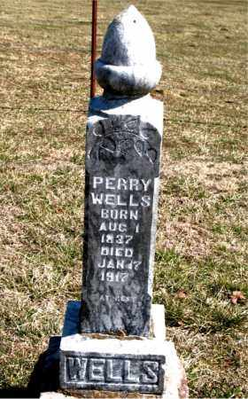 WELLS, PERRY - Boone County, Arkansas | PERRY WELLS - Arkansas Gravestone Photos